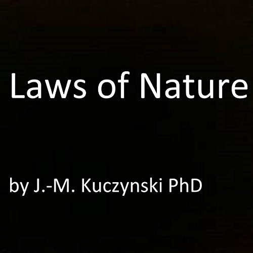 Laws of Nature audiobook cover art
