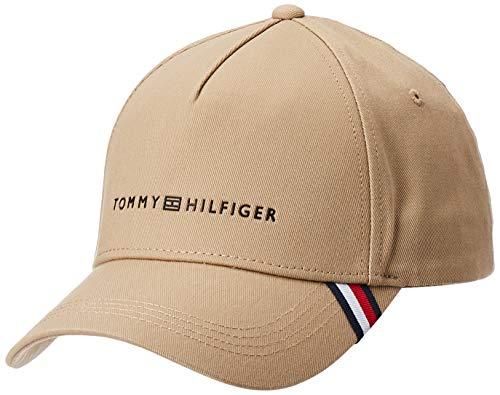 Tommy Hilfiger Herren Uptown Baseball Cap, Beige (Beige Aeg), One Size (Herstellergröße: OS)