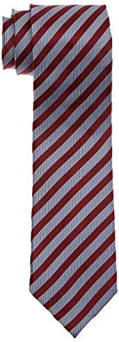 Bugatti Herren 6002-90001 Krawatte, Rot (Rot 970), (Herstellergröße: One Size)