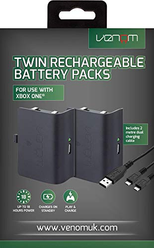 Venom Twin Rechargeable Battery Packs für Xbox One