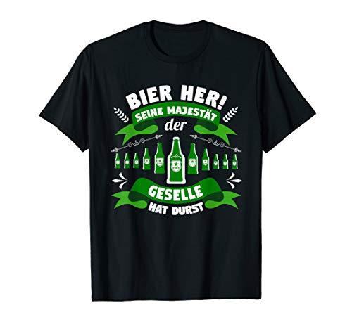 Herren Geselle Geschenk Gesellenprüfung bestanden T-Shirt