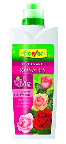 Flower 10827 10827-Abono liquido Rosales, 1000 ml, No Aplica, 10.5x6.2x28.5 cm
