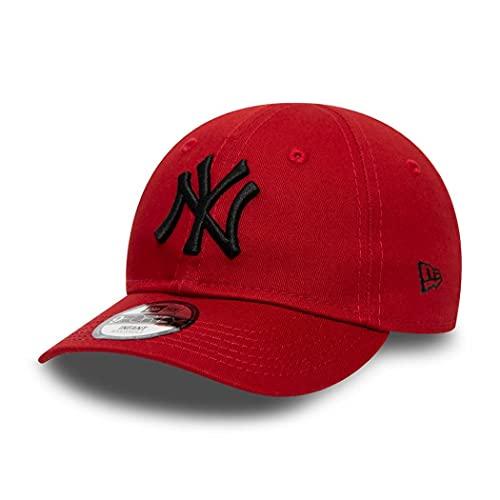 New Era New York Yankees Cap 9Forty Basecap Kinder Baby Kappe verstellbar MLB Rot - Infant