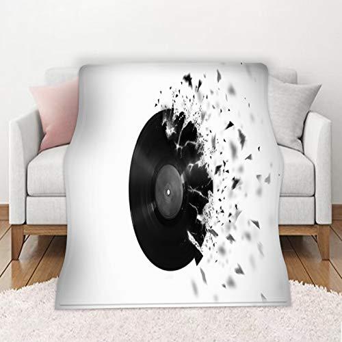 KLily Coperta di Flanella Bifacciale Materiale Lavato in Poliestere Modello 3D Asciugamano da Spiaggia per Esterni Casa Camera da Letto Divano Aria Condizionata Coperta