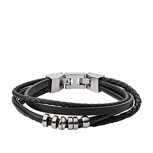 Fossil Herren Armband Black Multi Wrap
