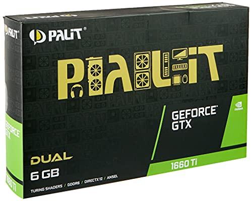 VGA Palit GeForce® GTX 1660 Ti 6GB Dual