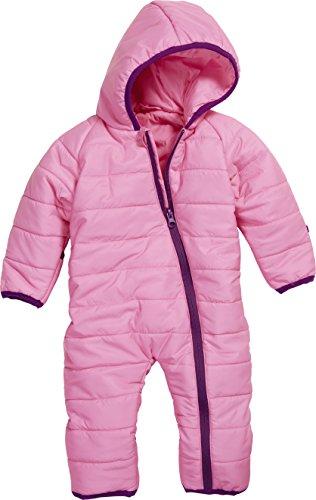Playshoes Baby-Unisex Stepp-Overall Uni Schneeanzug, Rosa, 74