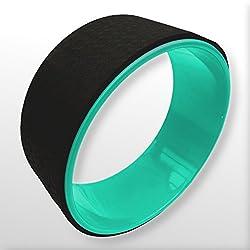 BodyRip 33cm Qualität Yoga Rad Stretch Rückseite Brust Rücken Dharma Bend, grün