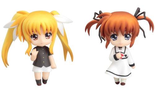 Good Smile Company Nendoroid FIGGSC151 - Figura de Nanoha y Fate, diseño de Serie Magical Lyrical Nanoha