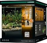 Dennerle Nano Cube Mini Aquarium avec Pare-Brise Avant Arrondi