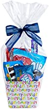 """Clear Basket Bags 16"""" x 24"""" Cellophane Gift Bags for Small Baskets and Gifts 1.2 Mil Thick (20 bags)"""