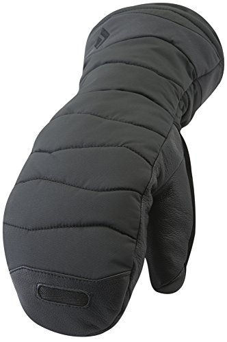 Black Diamond Women's Ruby Mitts Cold Weather Mittens, Black, Large