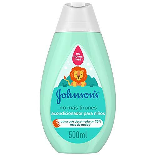 Johnson's Baby - Acondicionador No Más Tirones para Niños, 500 ml ✅