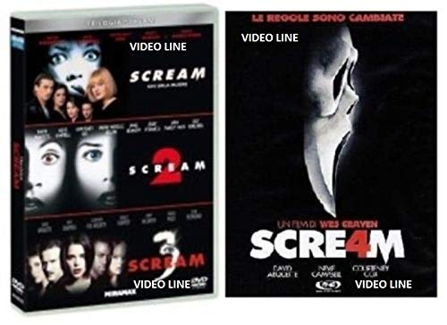 Scream Quadrilogia (4 Dvd) Edizione Italiana