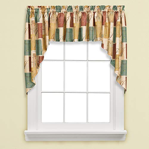 SKL HOME by Saturday Knight Ltd. Tranquility Swag Valance Pair
