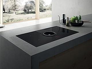 Elica PRF0120975 hobs Negro Integrado Con - Placa (Negro, Integrado, Con placa de inducción, Vidrio, 7400 W, 220-240 V)