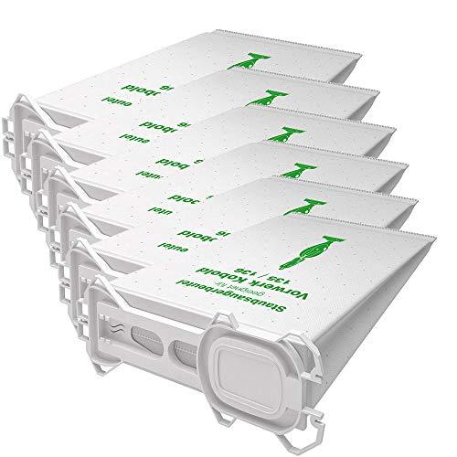 AVR-Handel 6 hochwertige Staubsaugerbeutel Typ VS 135 passend für Vorwerk Kobold 135 und 136