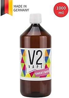 V2 Vape E-Liquid Base Base 1000ml Grado farmacéutico puro para auto-mezclado de líquidos electrónicos 0mg libre de nicotina