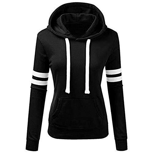 Lolittas_Sweatshirt met capuchon, Lolittas, roze, blauw, zwart, modieus, vrouwen, warm, pluizig, winter, casual, blouse, pullover