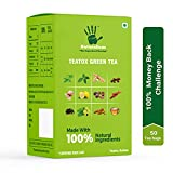 Naturalism Teatox Kahwa Green Tea (100% Natural with Herbs & Spices) 50 Bags | Free Shipping