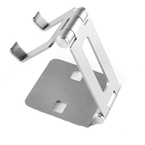 Laptop Stand, Soporte for portátil de la tableta del soporte del teléfono de peso ligero ordenador de la tablilla portable ajustable del escritorio plegable de aluminio de aleación titular Equipo port