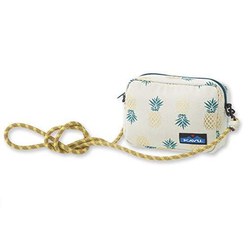 KAVU Nootka Crossbody Bag Padded Rope Strap Purse - Pineapple Express
