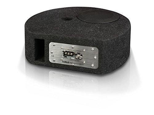 """AXTON ATB20STP: 20 cm / 8"""" Aktivsubwoofer, Bassbox für die Reserverad-Mulde, Bassreflex Basskiste fürs Auto mit Verstärker-Modul"""