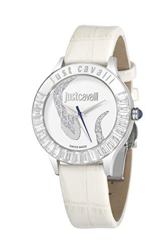 Just Cavalli Damen-Armbanduhr Analog Quarz Leder R7251597502