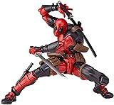 KIJIGHG Titan Super Hero Figura de acción Deadpool (Rojo) 15cm (6 Pulgadas) Figura de Anime móvil Conjunta Figuras de acción Modelo de Personaje de Anime
