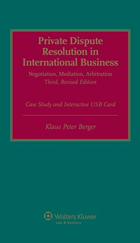 Compare Textbook Prices for Private International Dispute Resolution in International Business. Negotiation, Mediation, Arbitration 2 Volume Set 3 Edition ISBN 9789041158284 by Klaus Peter Berger