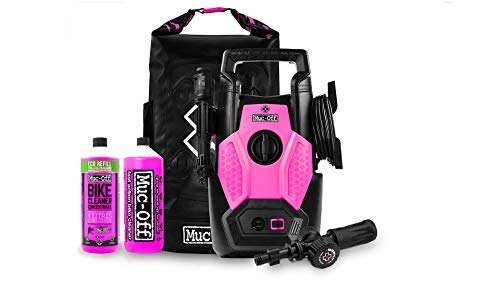Muc Off Bicycle Pressure Washer Bundle - The World's First Bike and Motorcycle-Specific Pressure Washer - Safe On All Parts and Sensitive Bearings