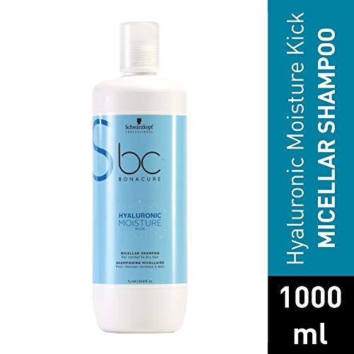 Schwarzkopf Professional BONACURE Hyaluronic Moisture Kick Micellar Shampoo, 1 l