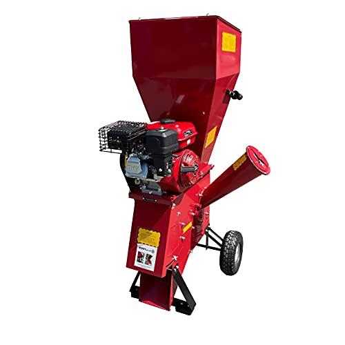 Garden Chipper Shredder | 7HP Mulcher | Petrol Chipper Titan P