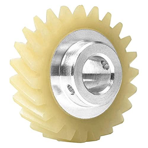 WUYUNXIAN 6 unids W10112253 Mezclador Gusano Engranaje Parte de reemplazo Ajuste Exacto para Mezcladores KitchenAid Whirlpool & KitchenAid Mezcladores