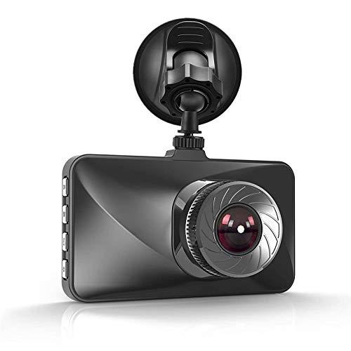 Dash CAM 1080P Full HD Cámara para Automóvil DVR Cámara Grabadora de Video en Automóvil con Súper Visión Nocturna, Monitor de Estacionamiento 24H Grabación en Bucle HDR