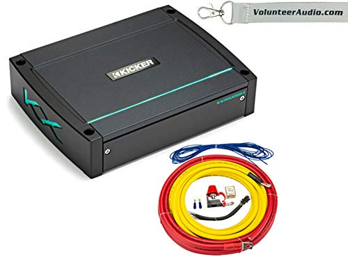Why Should You Buy KICKER 45KMA12001 6-Channel Marine Amplifier With PK4 Amplifier Wiring Kit