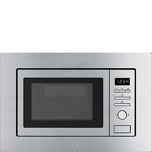 Smeg FMI020X Incasso Microonde con grill 17L 800W Acciaio inossidabile forno a microonde