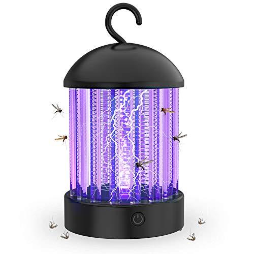 HBUDS Lampara Mata Mosquito, Electrico Mata Insectos y Repelente de Insectos UV...