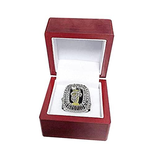 TYTY 2012 Basketball Ring Miami Heat Championship Ring Campeonato, campeones Anillo de réplica para Aficionados Colección del Regalo del Recuerdo de los Hombres,with Box,12