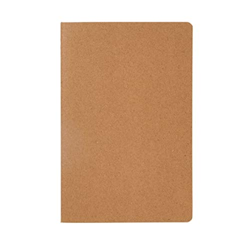 Notizbuch, A5 Discovery - 46 Seiten kariertes, cremefarbenes Papier - Natur