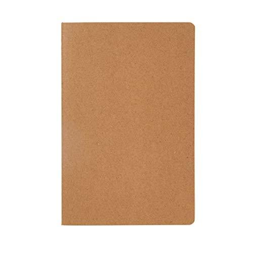Notizbuch A5 Discovery - 46 Seiten kariertes, cremefarbenes Papier - Natur