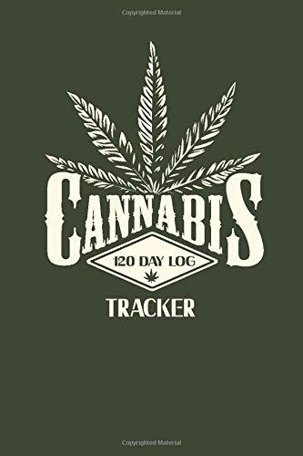 Cannabis Tracker 120 day log: Beautiful...