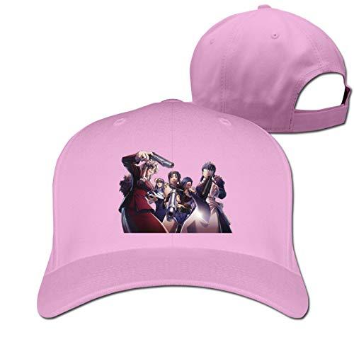Jigsaw Black Lagoon Girl Power Anime Casquette Classic Baseball Cap Adults Unisex Original Custom Hat Cotton Pink One Size