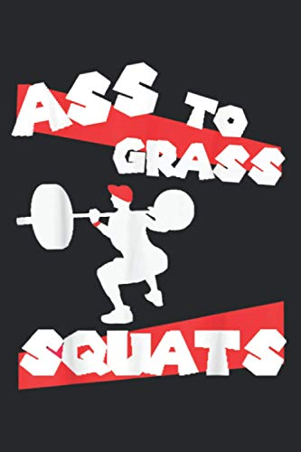 Heavy Squats Gym Session: Daily NoteBooks - A5 size, High quality paper stock
