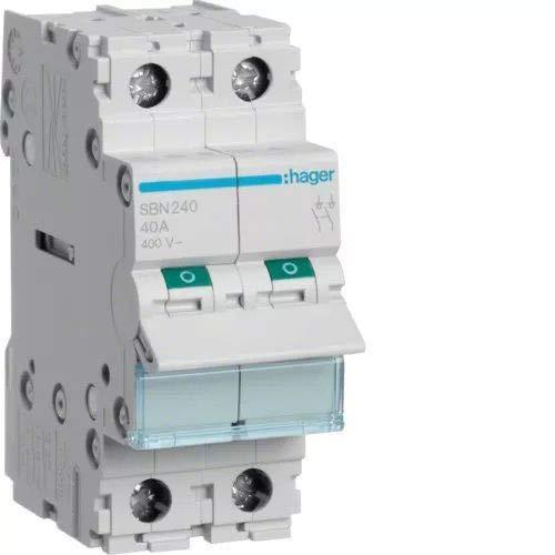 Hager SBN240 accesorio para cuadros eléctricos - Accesorios para cuadros eléctricos (400 V)