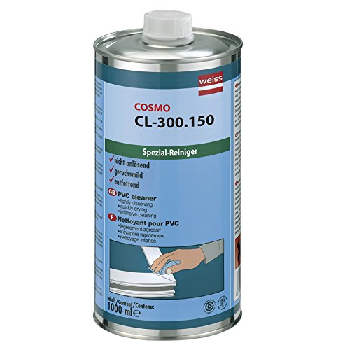 ultraschmale 500024Reinigungsmittel Aluminium Cosmo Kanister Profile, farblos