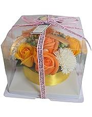 ケーキフラワー 枯れない花 シャボンフラワー ソープフラワー フレグランスフラワー 石けん素材 誕生日 結婚祝い 卒業祝い 入学祝い 退職祝い 母の日 父の日 サマーギフト お中元 お歳暮 お祝い 贈り物