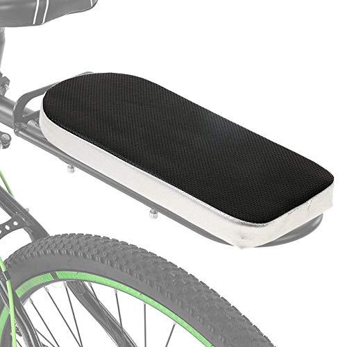 Axpdefi Cuscino del Sedile Posteriore della Bici, Cuscino del Sedile Posteriore della Mountain Bike, Portabimbo Seggiolino per Bicicletta, Seggiolino per Bici/Bicicletta , Cuscino Antiurto per SED