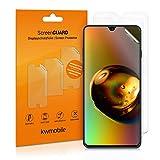 kwmobile 3x pellicola salvaschermo compatibile con Samsung Galaxy A50 - Film protettivo proteggi telefono - protezione antigraffio display smartphone