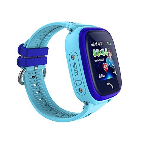 gstek smartwatch bluetooth XHL Art Bambino Smartwatch IP67 Swim GPS Touch Telefono Intelligente Orologio SOS Chiamata Posizione Dispositivo Tracker Bambini Sicuro Monitor Anti-Perso